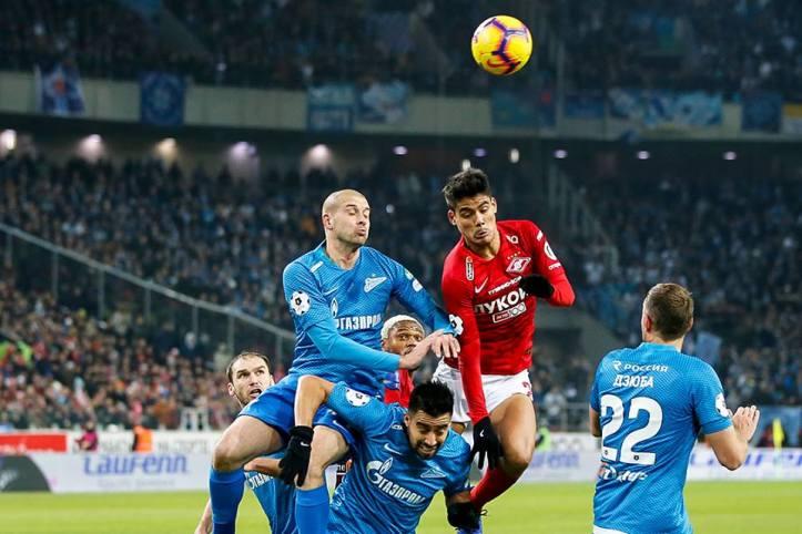 Spartak-Zenit 1-1